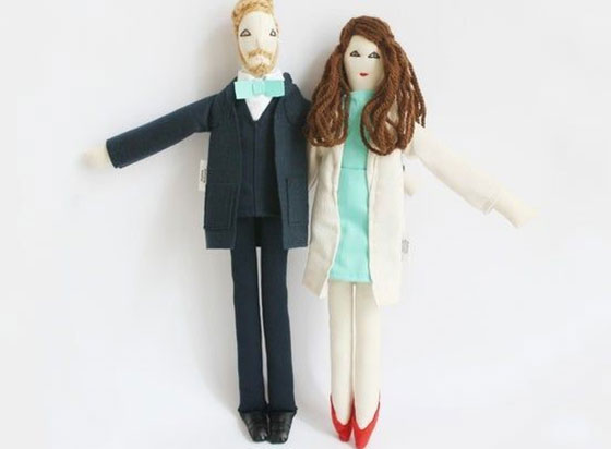 personalized couple dolls gifts ideas